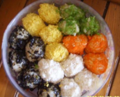 오색주먹밥